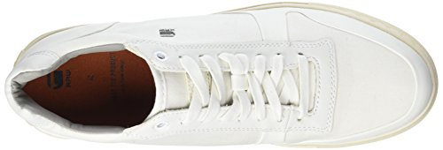 G-star Raw Heren Krosan Mid Fashion Sneaker Wit