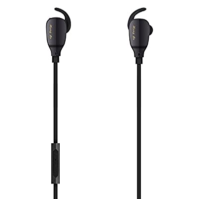 HongBo Bluetooth Earbuds, Wireless Headphone Stereo Sport Earphone for Gym Running Workout 8 Hours Battery Noise Cancelling Headsets