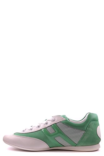 Hogan Sneakers Donna MCBI148056O Pelle Verde