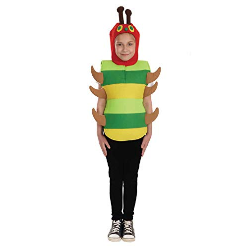 fun shack Kids Hungry Caterpillar Costume Childrens All-in-One Cute Animal Outfit - Large]()