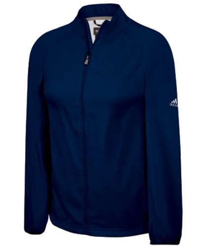 adidas ClimaProof Full-Zip Wind Women's Jacket - Navy/Sterling Extra Large ()