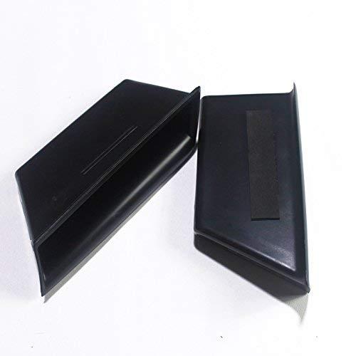 Plastic Car Interior Front Side Door Storage Box Holder Cover Trim Black for Mercedes Benz C Class W204 2008-2013