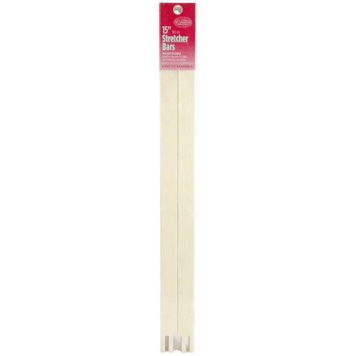 Edmunds Regular Stretcher Bars for Needle Art, 15 by 3/4-Inch (Fabric Stretcher)