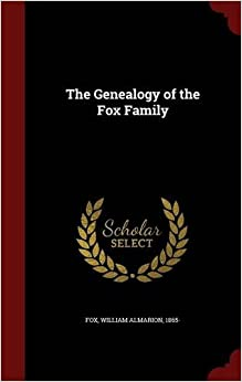 Book The Genealogy of the Fox Family