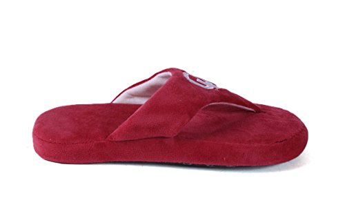 Womens College Feet Happy Oklahoma Comfy Mens LICENSED Flop and NCAA Sooners OFFICIALLY zMqHzd