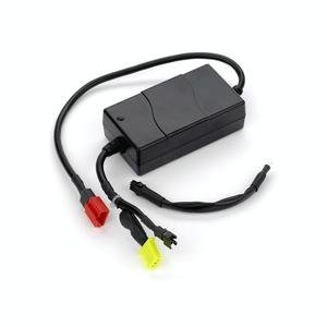 Alimed On-board Battery Charger with 2 Amp Power Cord, 24V, Compatible with Lynx L-3 and L-4 Scooters