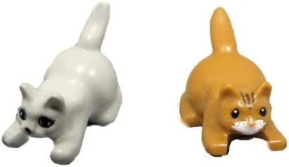 LEGO Two Kittens (White and Brown) Minifigures