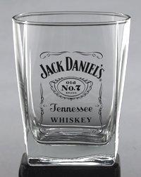 Jack Daniel's Tennessee Whiskey Logo DOF 14 oz. Glass