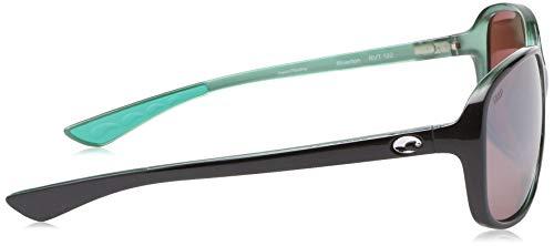 Costa Del Mar Men's Riverton Rectangular Sunglasses