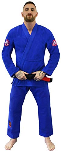 Kimono Jiu Jitsu Ultra Light Keiko Sports Unissex A1H Azul