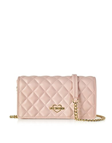 Love Moschino Women's Jc4011pp15lb0600rosa Pink Faux Leather Shoulder Bag by Love Moschino