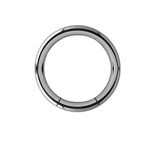 Titanium Smooth Segment Rings - 2.4mm (Smooth Segment Rings)
