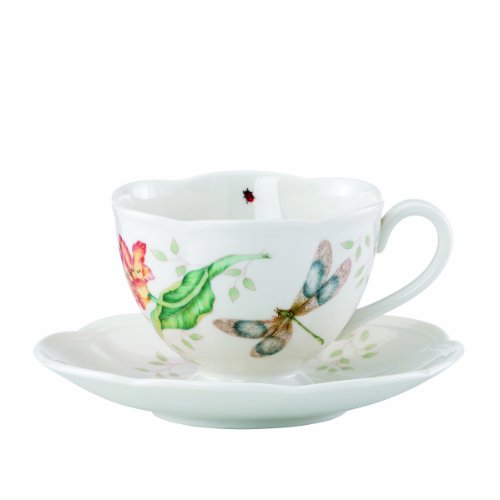Lenox Butterfly Meadow Dragonfly Cup and Saucer ()