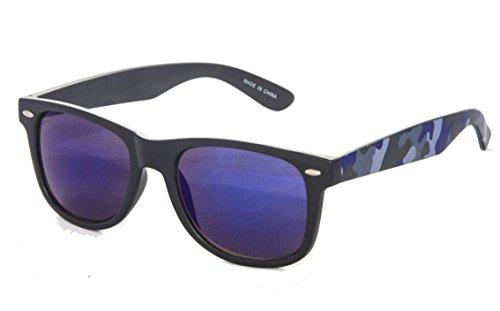 Eason Eyewear Men/Women's Wayfarer Camouflage Sunglasses - Wayfarer Sunglasses Camo