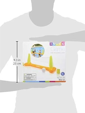 Intex 56508NP - Juego hinchable Vóley flotante 239 x 64 x 91 cm ...