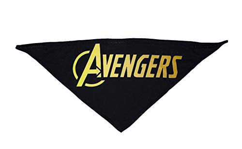 Marvel Comics Avengers Infinity War Logo Pet Bandana For Dogs, Large   Best Marvel Avengers Bandana For All Large Dogs