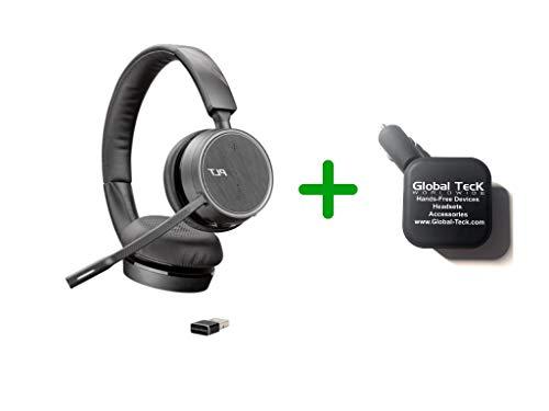 Plantronics Voyager 4220-UC Bluetooth Headset Bundle (USB A)
