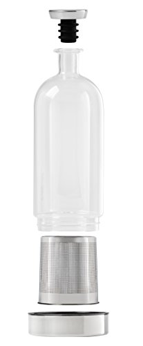 Ethan+Ashe – Alkemista Alcohol Infusion Vessel – Liquor Dispenser With Fine Filter – Add Flavor To Spirit – Infuser For…