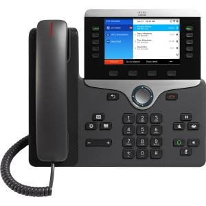 (Cisco 8861 IP Phone with Multiplatform Firmware - Charcoal )