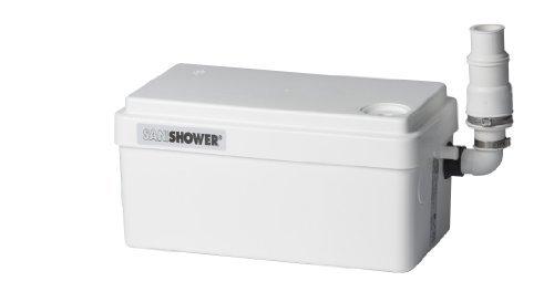 Saniflo 010 SANISHOWER Light Duty Gray Water Pump, White by - Water Sanishower Gray Pump
