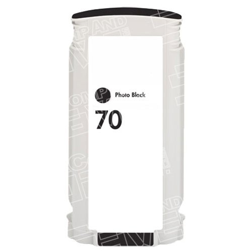CompAndSave Replacement for Hewlett Packard (HP) C9449A (HP 70) Photo Black Ink Cartridge - (130ml Photo Black Ink Cartridge)
