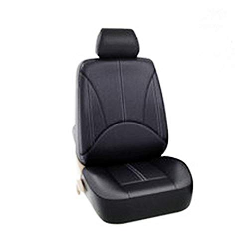 RONSHIN Vehicle Accessories PU Leather Seats Cover for Four Seasons Universal Seats Cover Waterproof Dust-proof A052 leather front seat single: