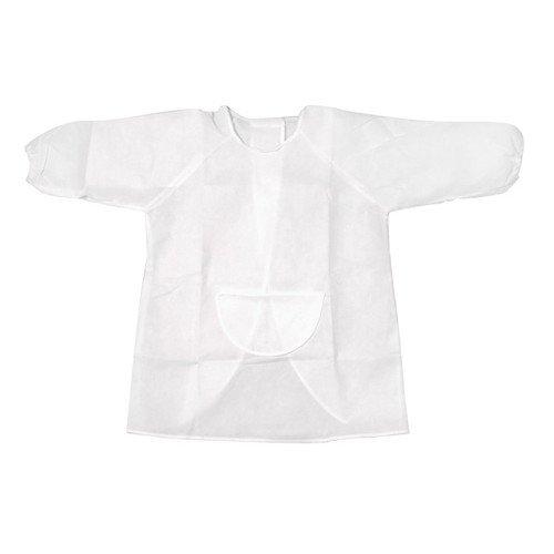 WGI Kid's Art Smock Kit, White by WeGlow International