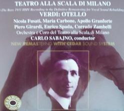 Verdi: Otello - Carlo Sabajno ()