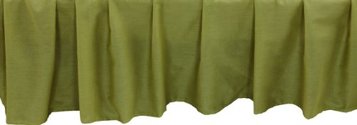 Be-You-tiful Home Basic 3-Piece Bedskirt Set, Twin, Apple (Apple Bedskirt)