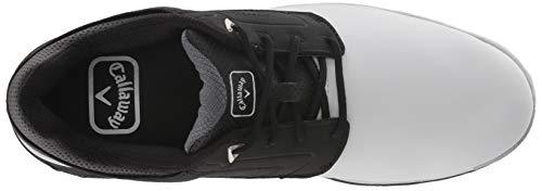 Pictures of Callaway Men's LaJolla Golf Shoe Black/ Black/White 2