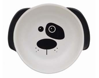 Adorable Dog Dish with face