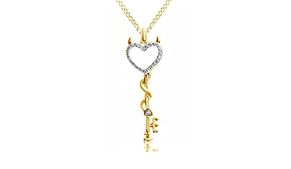 Simulated Diamond Studded Fashion Charm Musical Sign Pendant Necklace in 14K White Gold Plated With Box Chain