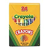 ** Classic Color Pack Crayons, Tuck Box, 24/Box