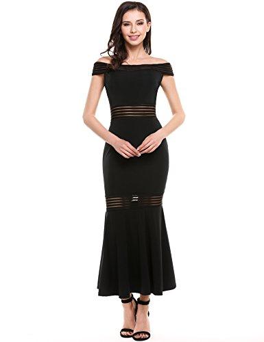 Jersey Boatneck Dress - 4