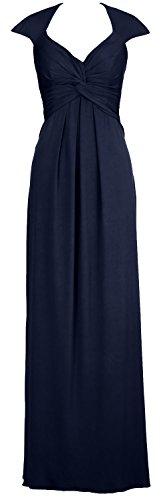 Formal Long Dunkelmarine MACloth Dress Back Prom Open Elegant Jersey Simple Gown Evening 4O8q5