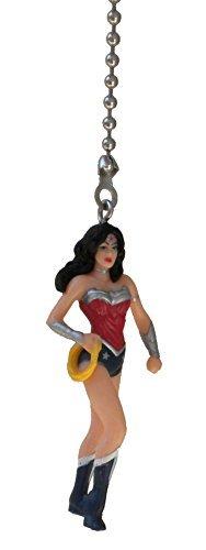 DC & Marvel Comics Super Hero Superhero Character Ceiling Fan Pull Light Chain (Wonder -