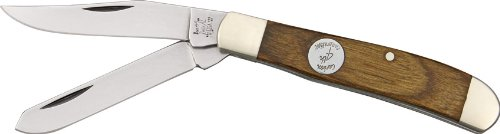 Bear & Son Cutlery C207 Heritage Walnut Mini Trapper Knife, 3 1/2