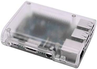 ABS Case Cover Shell Enclosure Box for Raspberry Pi 3//3B//2B//B+ White