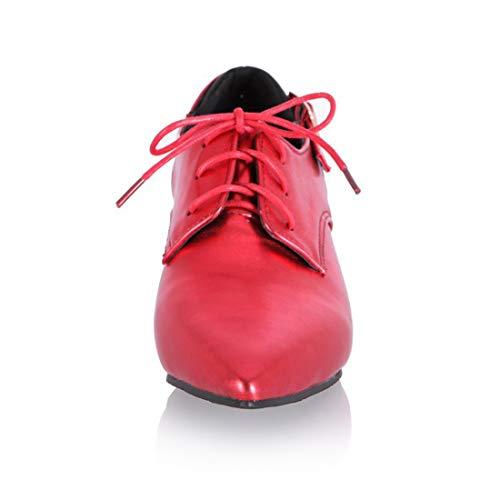 Puntato Mid Red Da Cravatta Seraph Lavoro Blocco Alto Donne Scarpe 131 Cintura Tacco XqAw06