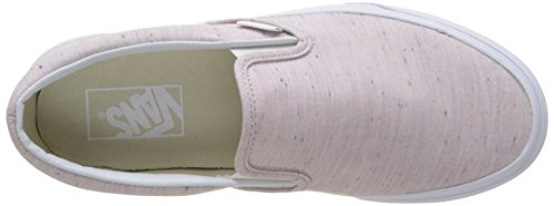Vans Ua Classic Slip-On, Zapatillas para Mujer Rosa (Speckle Jersey)