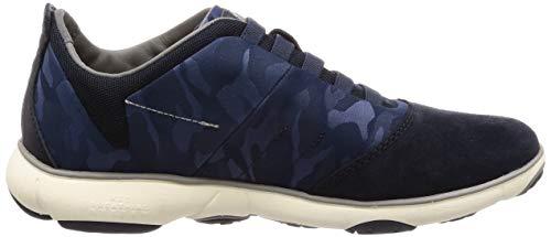 Azul U Geox B navy Zapatillas Nebula Hombre Para 1OpwZOq