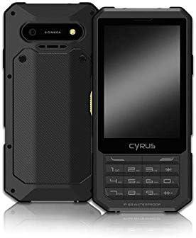 Cyrus CM17 Hybrid Outdoor - Smartphone (Android 7.0 Nougat, 2500 mAh, Dual SIM, 3,5 Pulgadas, 8 GB, tecla SOS, Resistente a los Golpes, al Polvo, Resistente al Agua, Color Negro: Amazon.es: Electrónica