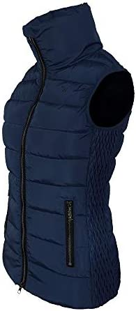 IW Isabell Werth Sienna Gilet matelassé pour femme Vert Taille S