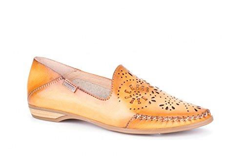 Pikolinos Relax Slipper Bari W0S-4679C1 Damen Schuhe Mokassin Orange