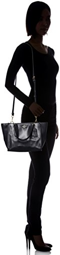 Top Crosby Women's Mini Leather Carryall Black Satchel Handle Coach wX15UqSq