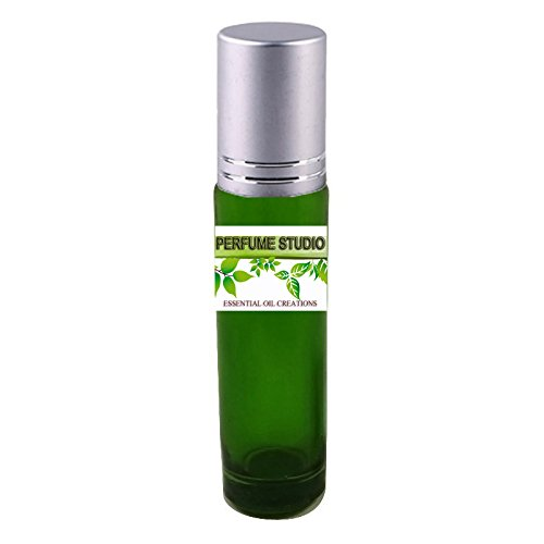 Premium Parfum Oil Blend Similar to Virgin Island Perfume 100% Pure Perfume Oil, Alcohol Free in a 10ml Green Glass Roller Bottle with Metal Ball and Silver Cap (Perfume Studio Oil Blend CF-109)