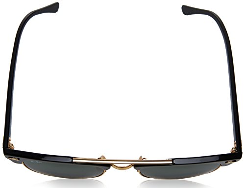 Rb3816 Clubmaster Black Ray Sunglasses Doublebridge ban q76w0