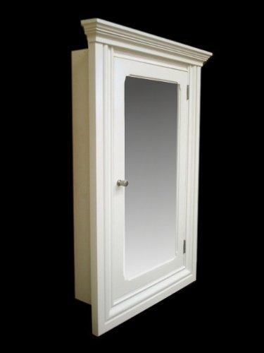 Amazon.com: St Carmen White Recessed Medicine Cabinet: Home & Kitchen