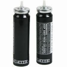 Cork Pops CO2 Cartridge Bottle Opener 2 Refills