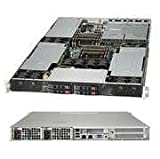 SUPERMICRO COMPUTER Supermicro Computer Sys-1027Gr-Trf E5-2600 Series, X9drg-Hf, Supports 3 Gpu Cards, Four 2.5In Hs Drive Bays, Black